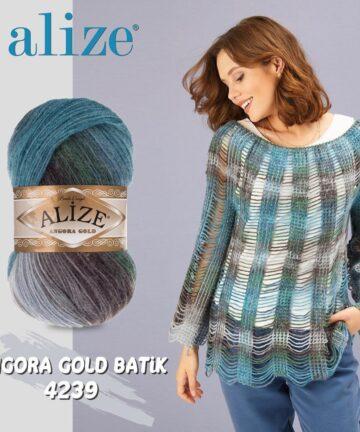 Angora Golld Batik